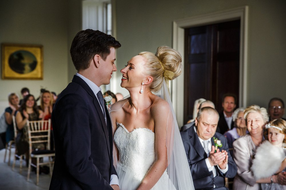 wedding ceremony stubton hall
