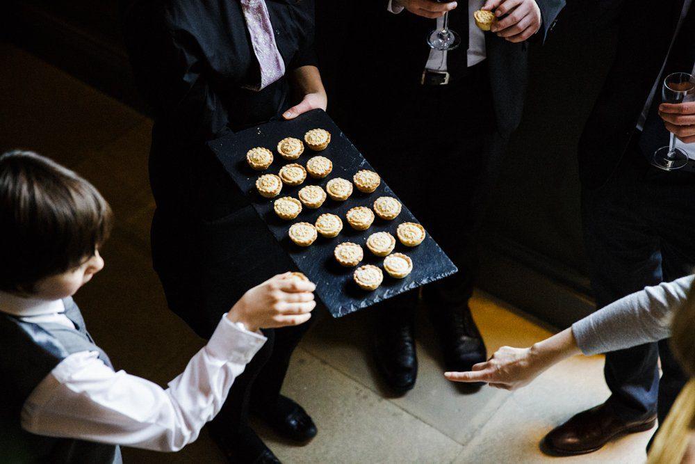 mince pies wedding