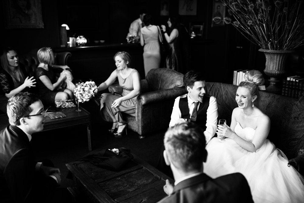reception at stubton hall