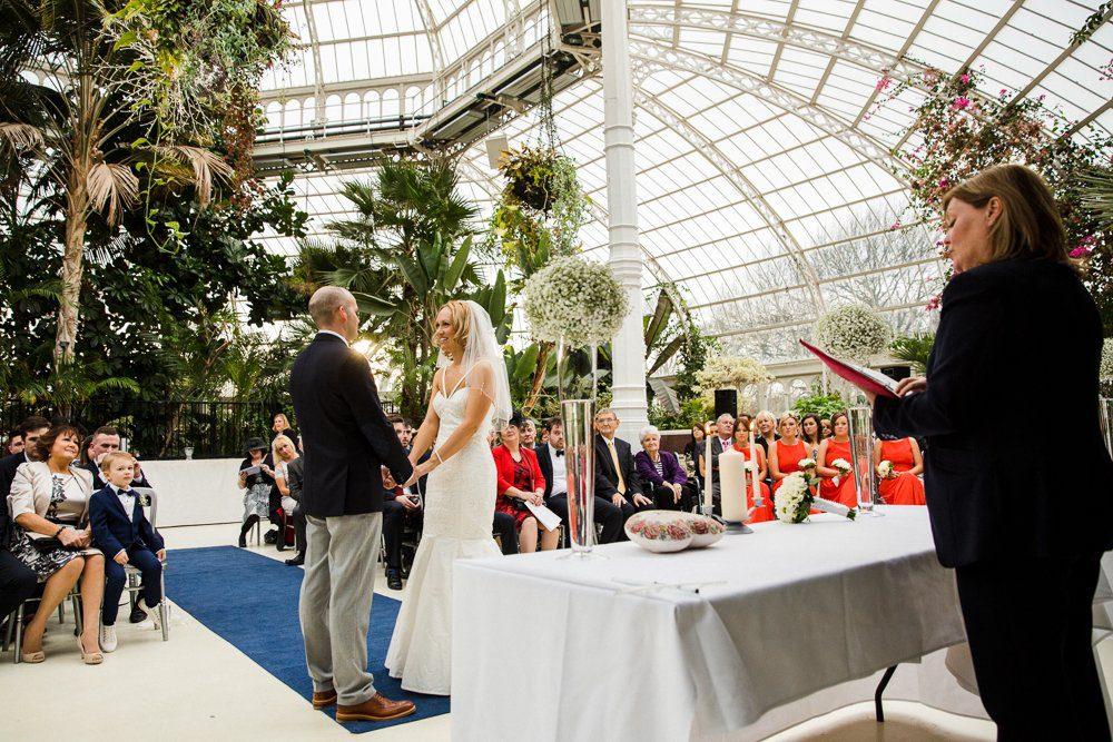 wedding sefton park palm house