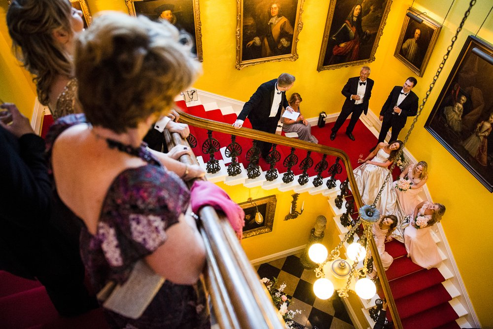 capesthorne hall speech on staircase