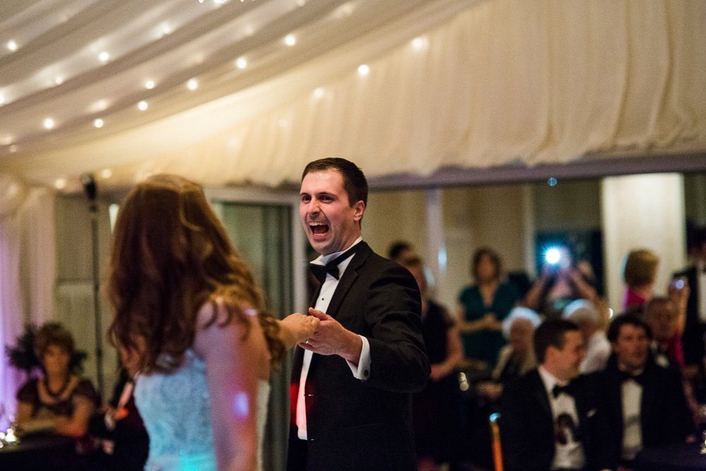 capesthorne hall first dance