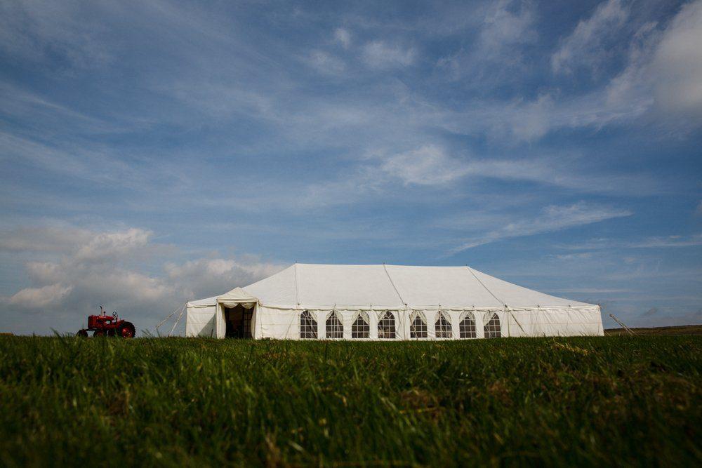 Common barn farm wedding