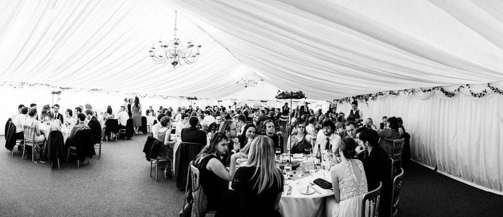 Plas Isaf wedding breakfast