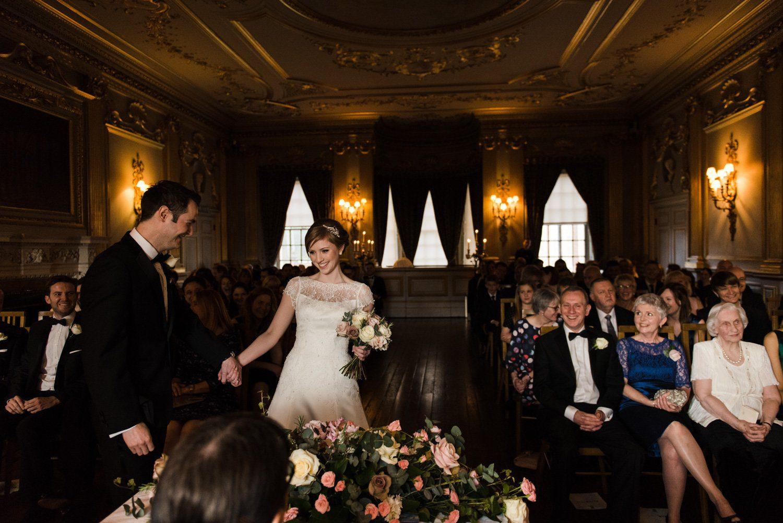 Knowsley Hall Wedding ceremony photos