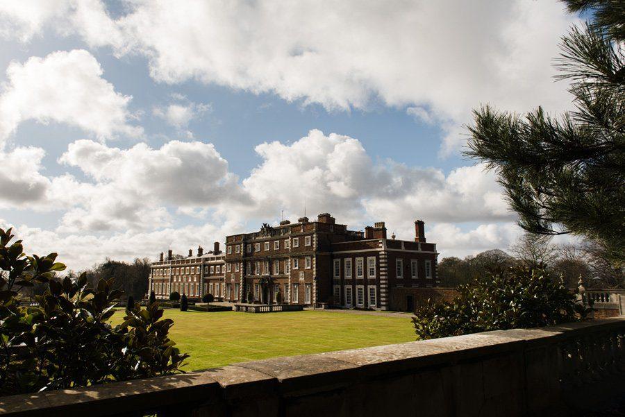 Knowsley hall wedding venue