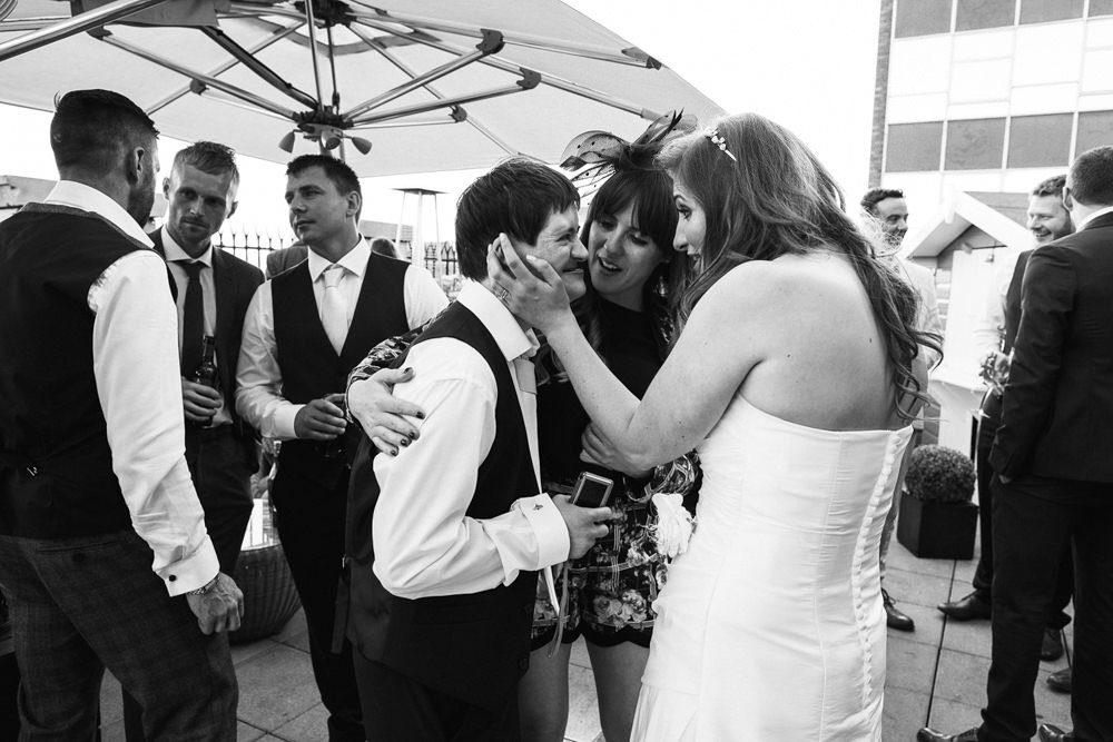 Great John Street wedding reception