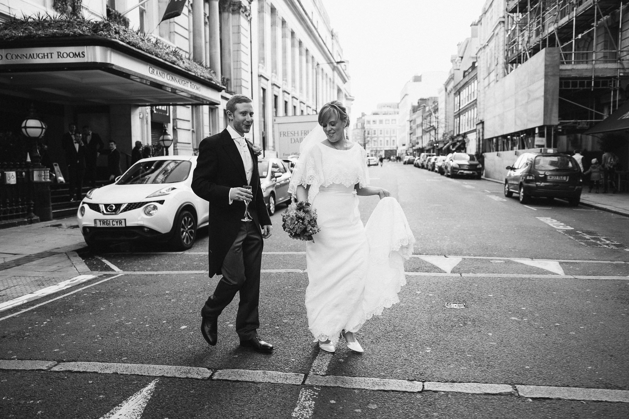 wedding at the grand connaught rooms