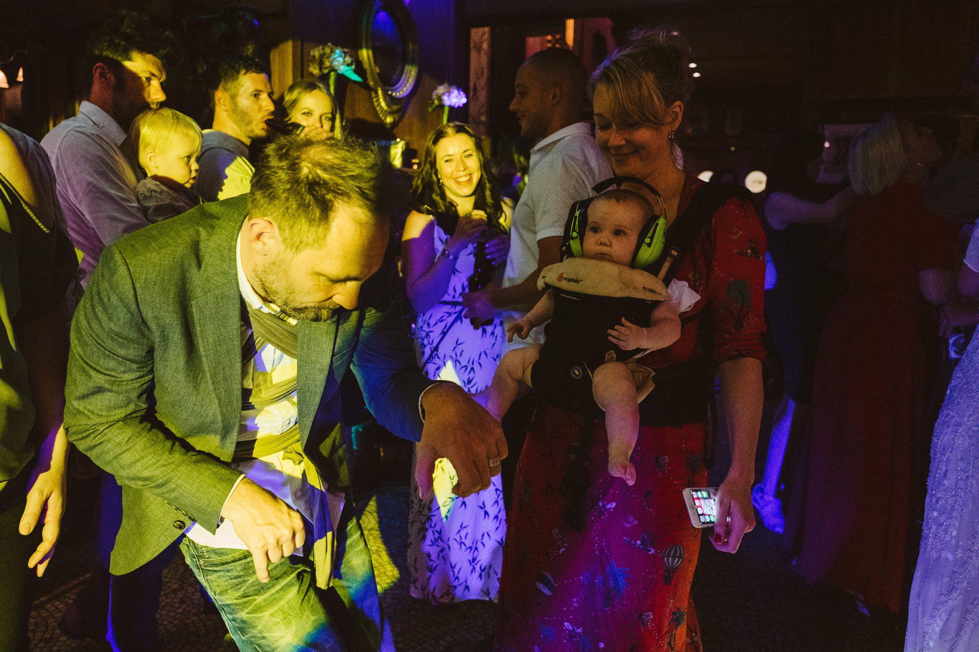 baby wedding dancefloor