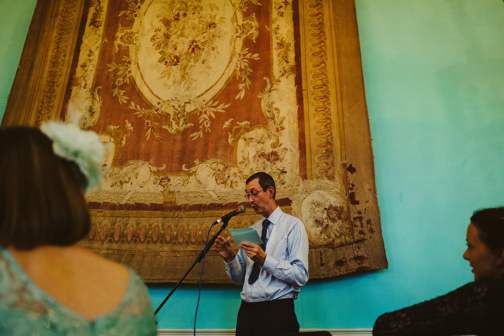 speeches walcot hall