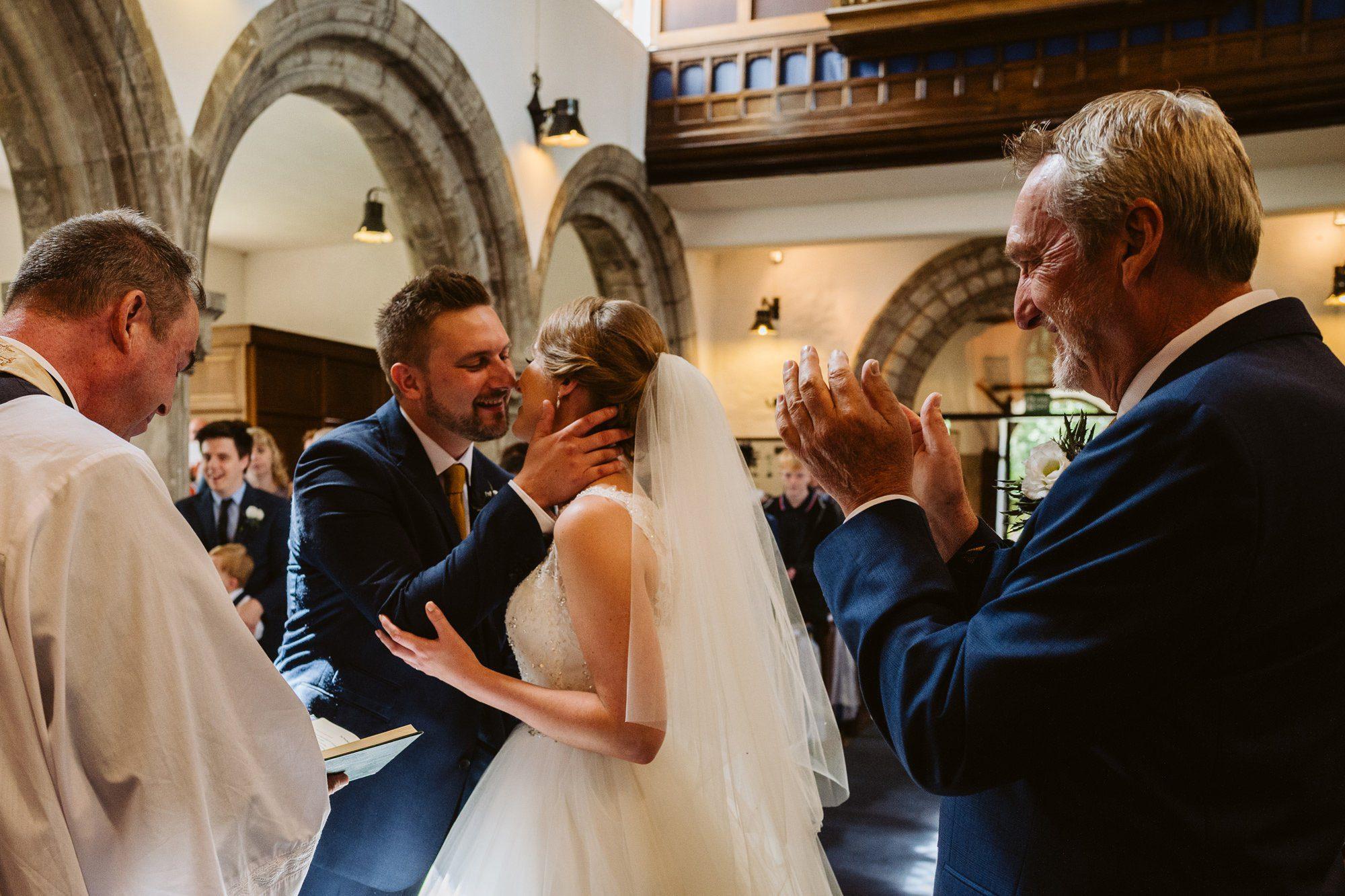 St Johns Church wedding