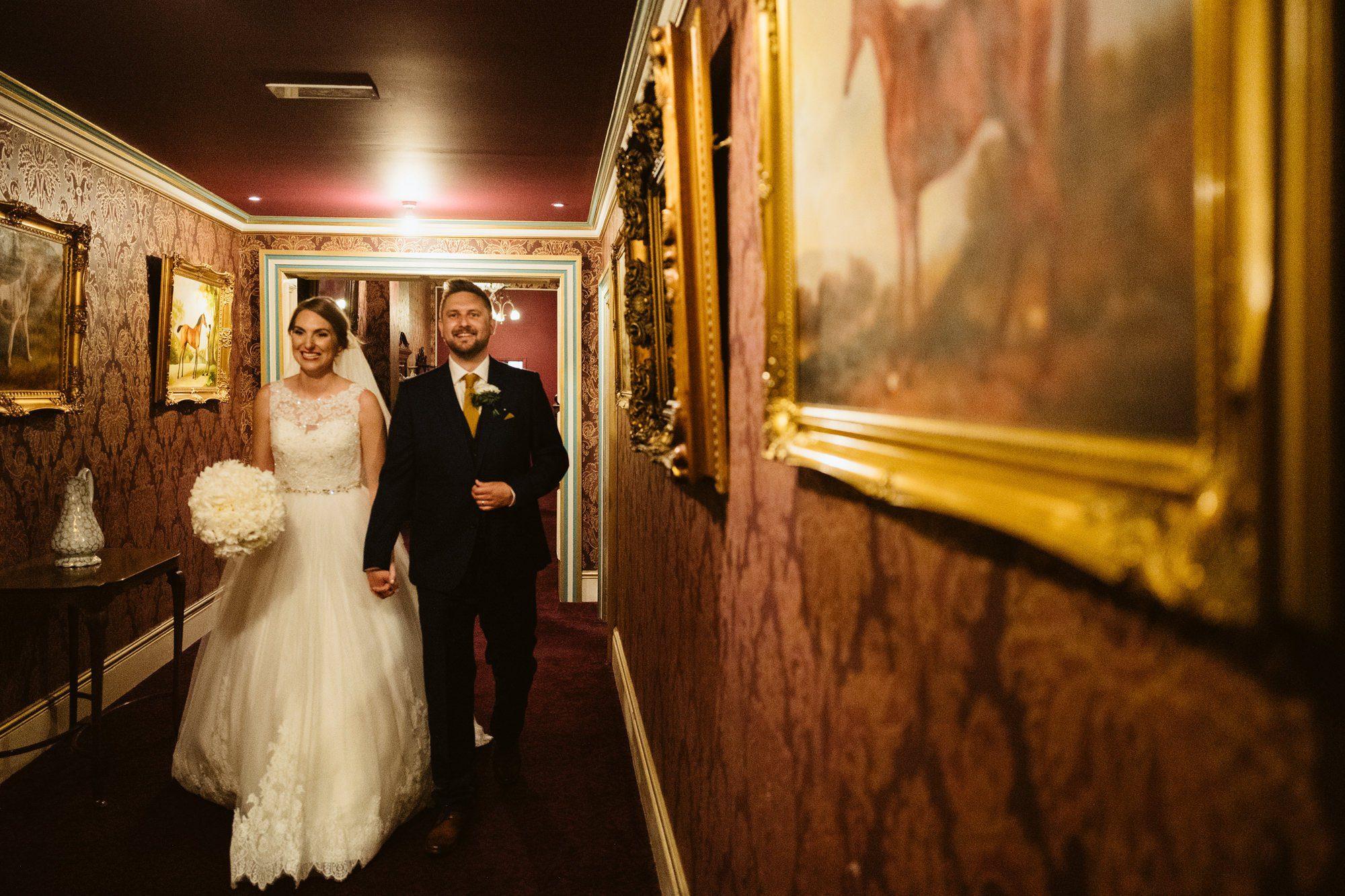 summer wedding rossington hall