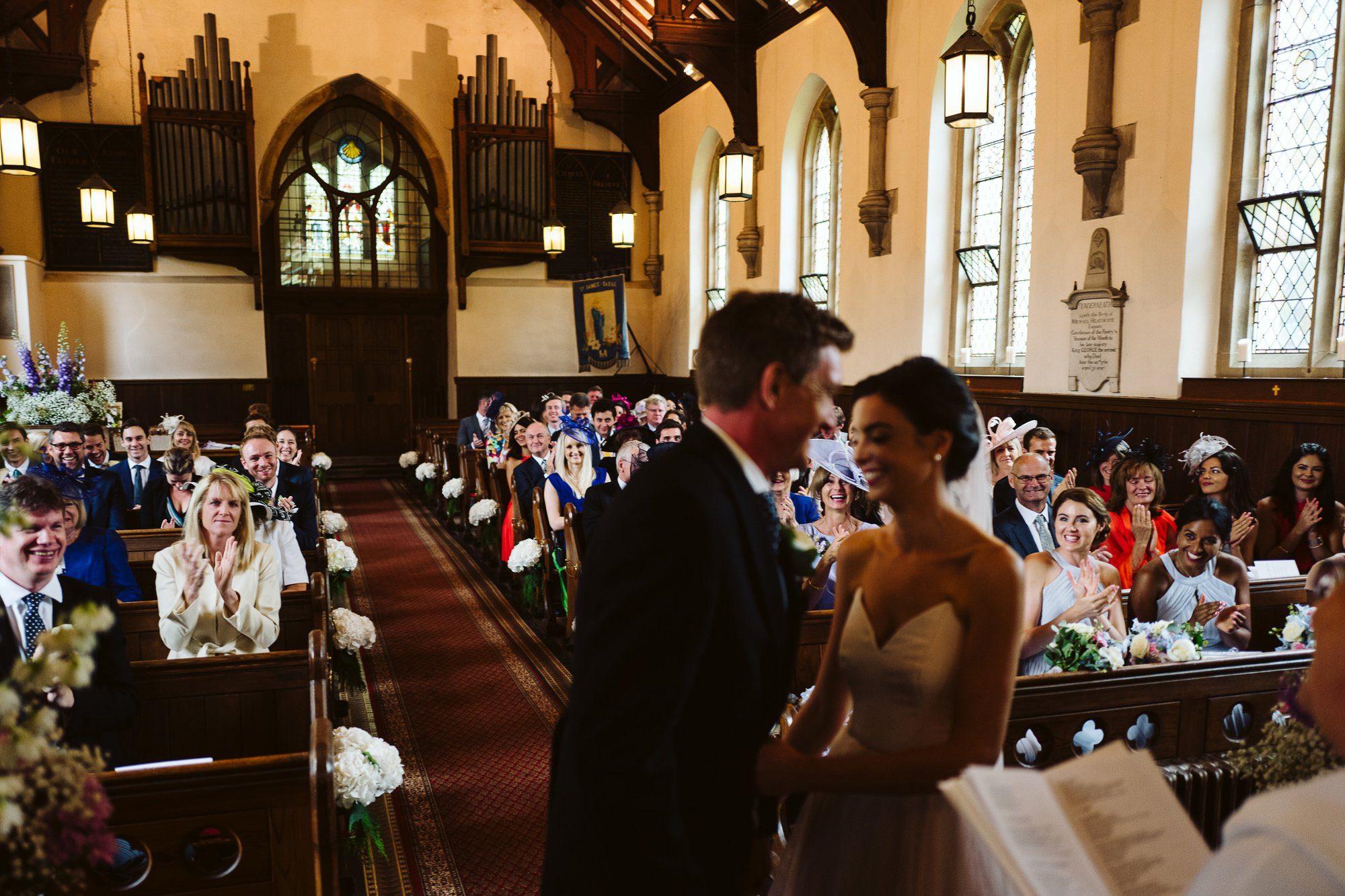 Kettleshulme church wedding