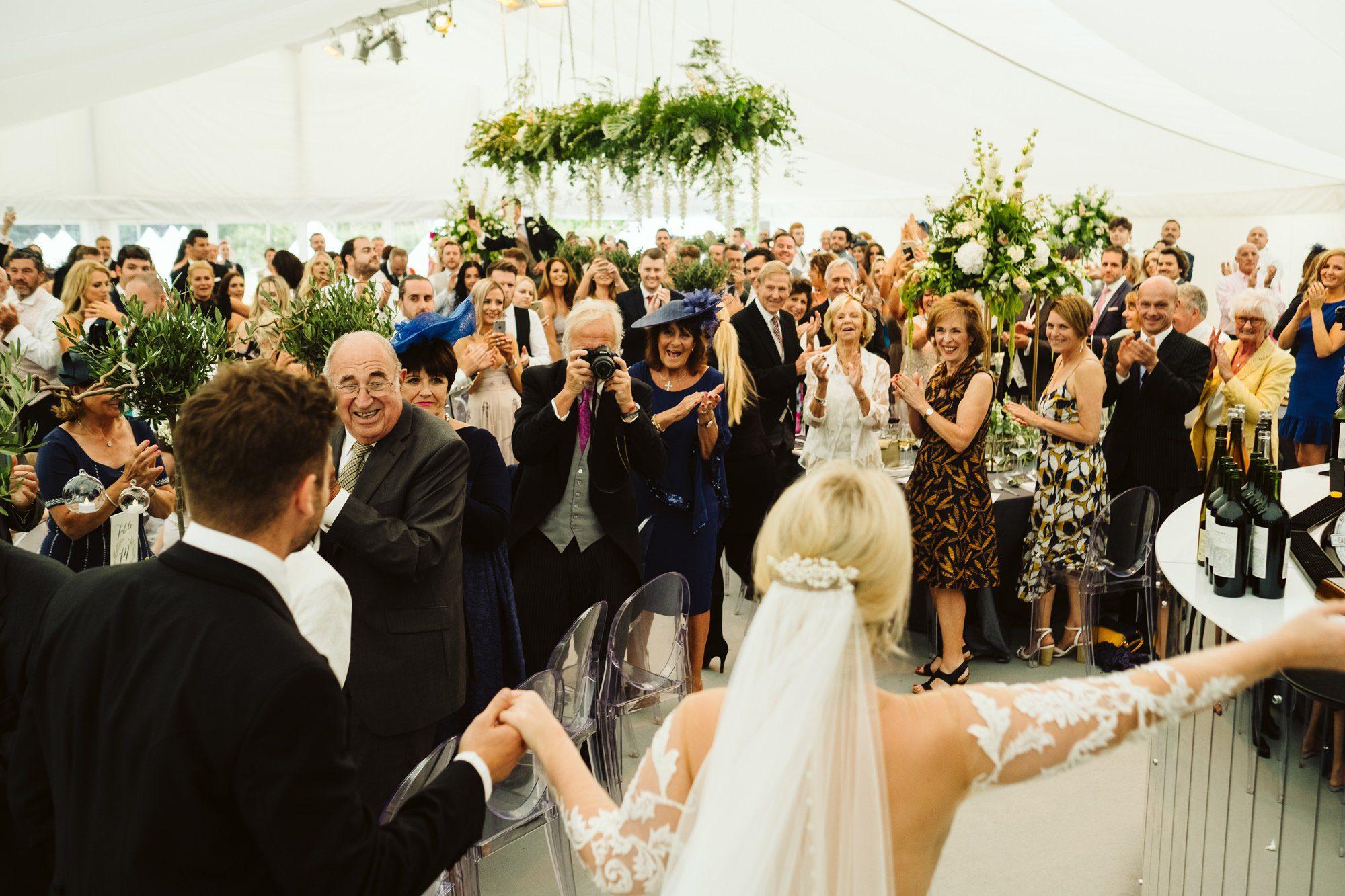 unposed wedding photographer