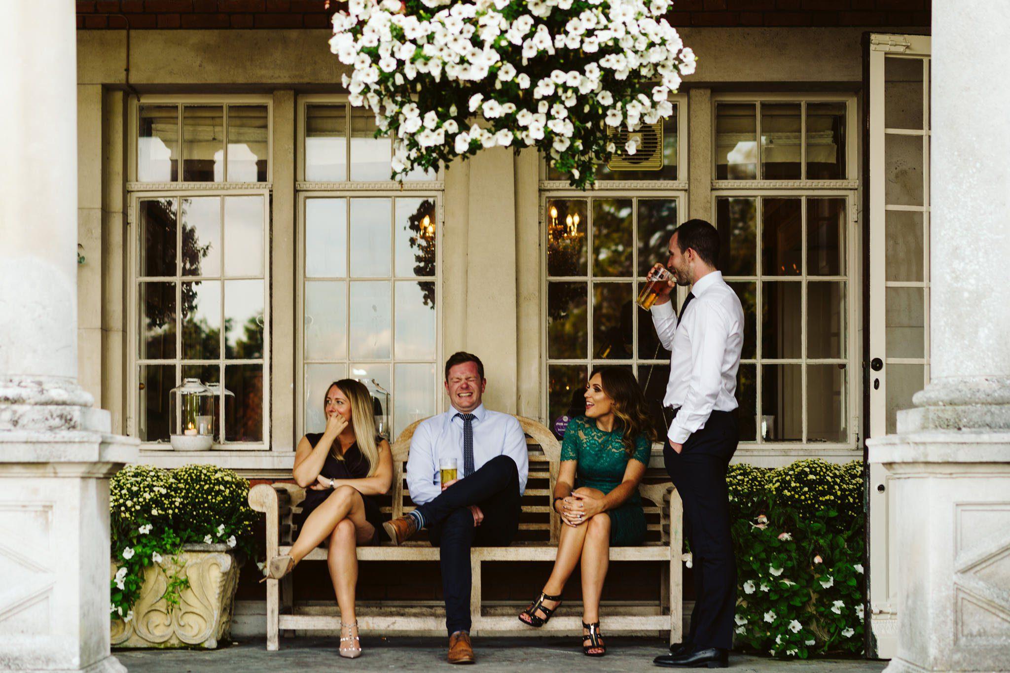 documentary wedding photographer eaves hall
