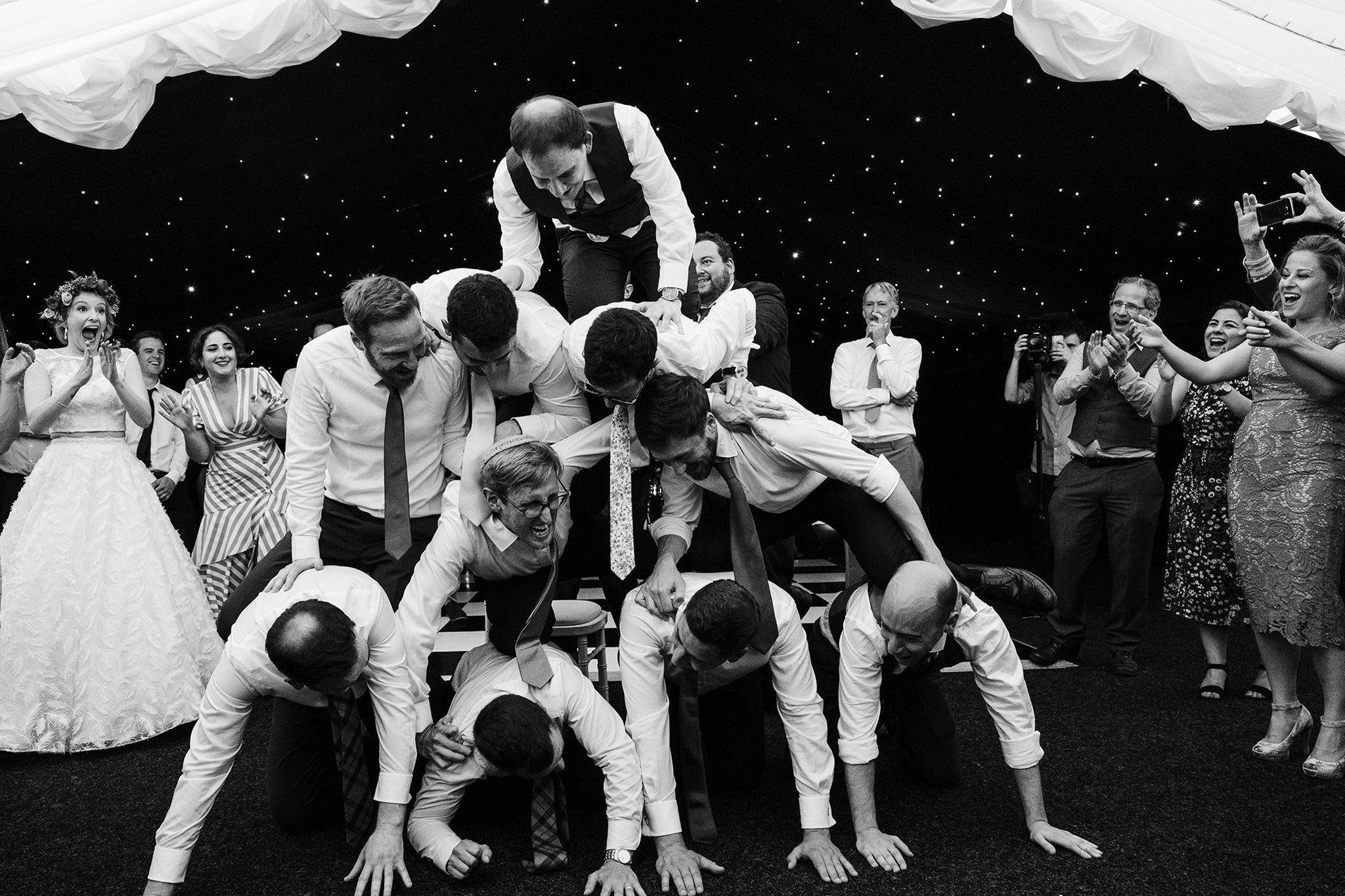 unstaged wedding photos