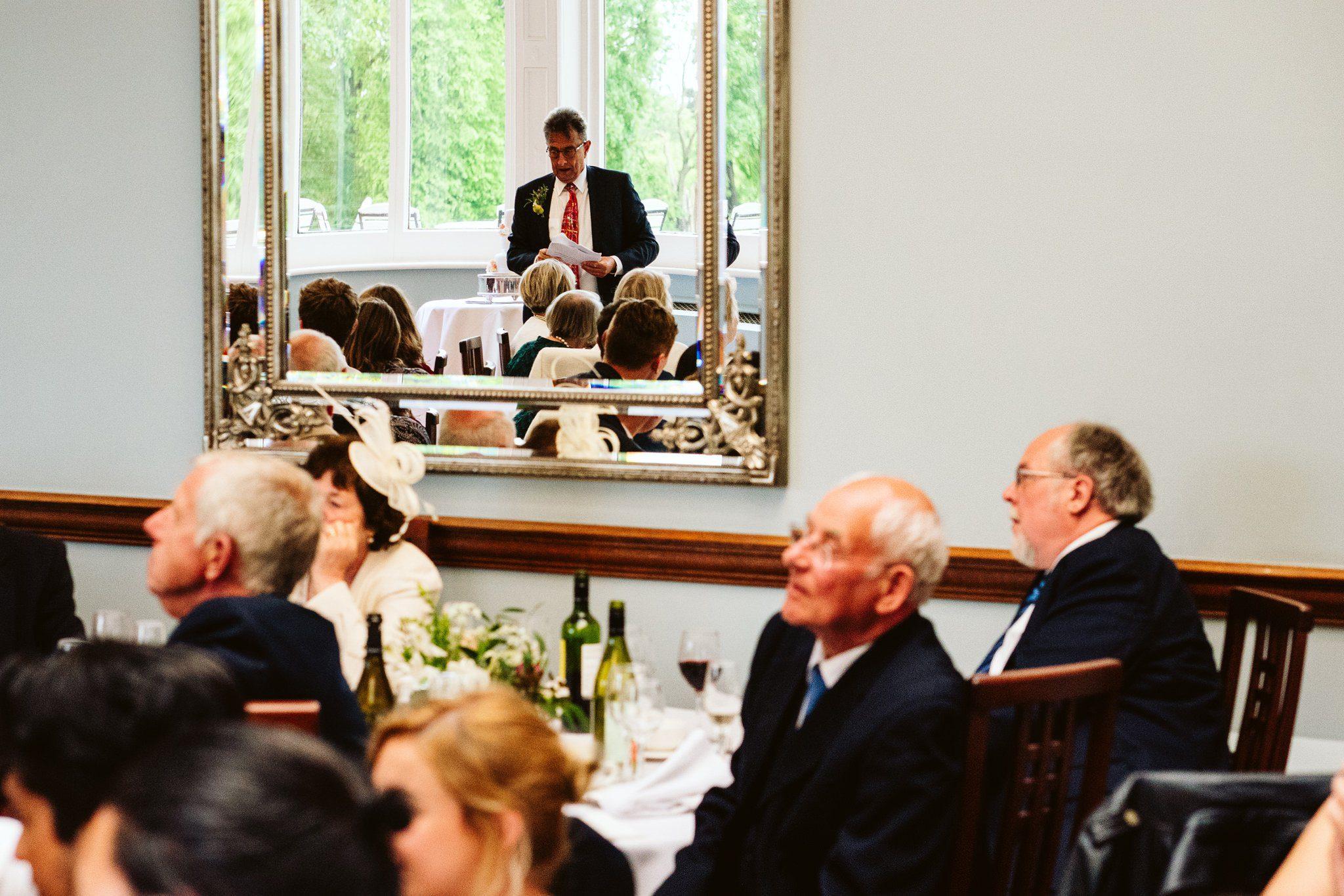 wedding speech pendrall hall