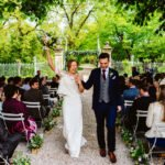 Chateau Lartigolle wedding ceremony