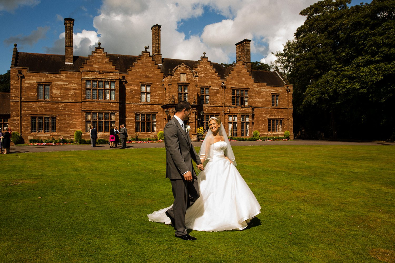 wrenbury hall cheshire weddig venue